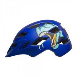 přilba BELL Sidetrack Child Mat Blue T-Rex